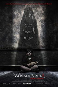 locandina del film THE WOMAN IN BLACK 2 - L'ANGELO DELLA MORTE