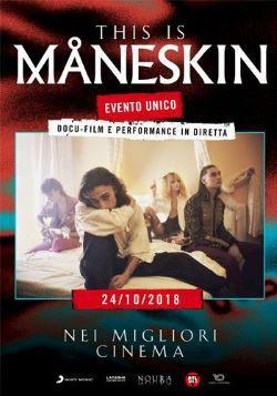 locandina del film THIS IS MANESKIN