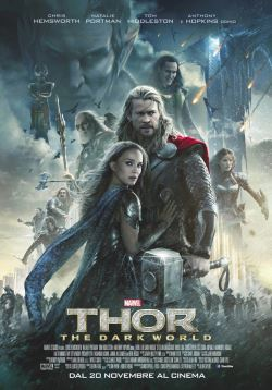 locandina del film THOR: THE DARK WORLD