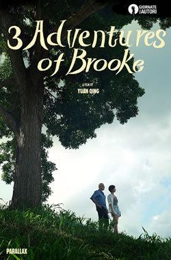 locandina del film THREE ADVENTURES OF BROOKE