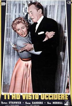Ti Ho Visto Uccidere (1954)