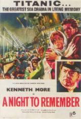 locandina del film TITANIC, LATITUDINE 41 NORD