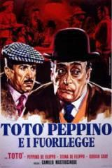 locandina del film TOTO', PEPPINO E I FUORILEGGE