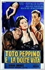 locandina del film TOTO', PEPPINO E... LA DOLCE VITA