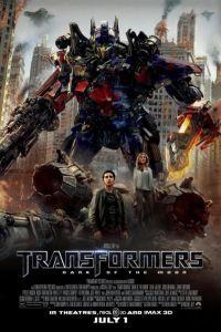 locandina del film TRANSFORMERS 3