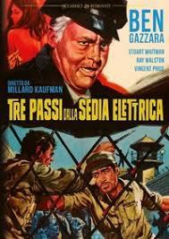 locandina del film TRE PASSI DALLA SEDIA ELETTRICA