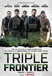 locandina del film TRIPLE FRONTIER