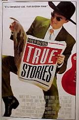 locandina del film TRUE STORIES