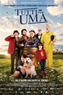 locandina del film TUTTI PER UMA