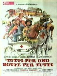 locandina del film TUTTI PER UNO... BOTTE PER TUTTI