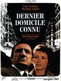 Ultimo Domicilio Conosciuto (1969)
