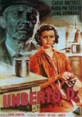 locandina del film UMBERTO D.