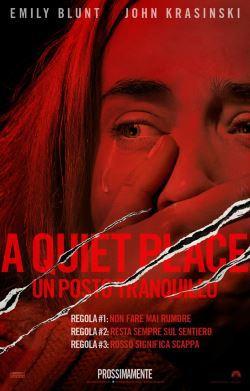 locandina del film A QUIET PLACE - UN POSTO TRANQUILLO