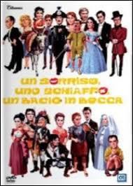 locandina del film UN SORRISO, UNO SCHIAFFO, UN BACIO IN BOCCA