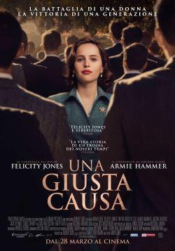locandina del film UNA GIUSTA CAUSA