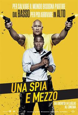 locandina del film UNA SPIA E MEZZO