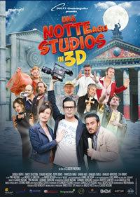 locandina del film UNA NOTTE AGLI STUDIOS