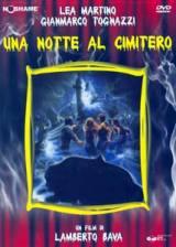 locandina del film UNA NOTTE AL CIMITERO