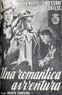 locandina del film UNA ROMANTICA AVVENTURA