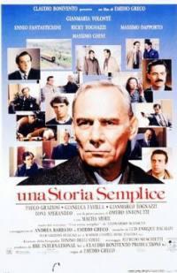 locandina del film UNA STORIA SEMPLICE