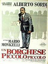 locandina del film UN BORGHESE PICCOLO PICCOLO