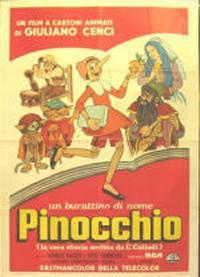 locandina del film UN BURATTINO DI NOME PINOCCHIO