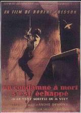 locandina del film UN CONDANNATO A MORTE E' FUGGITO