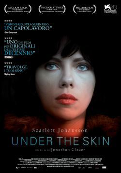 locandina del film UNDER THE SKIN (2013)