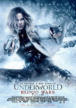 locandina del film UNDERWORLD - BLOOD WARS
