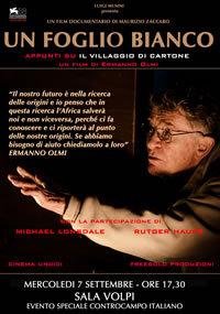 locandina del film UN FOGLIO BIANCO