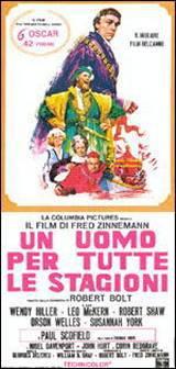 locandina del film UN UOMO PER TUTTE LE STAGIONI