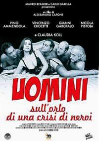 locandina del film UOMINI SULL'ORLO DI UNA CRISI DI NERVI