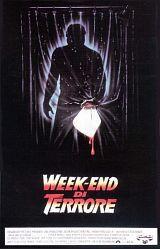 locandina del film VENERDI' 13 PARTE III - WEEK END DI TERRORE
