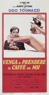 locandina del film VENGA A PRENDERE IL CAFFE' DA NOI