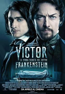 locandina del film VICTOR: LA STORIA SEGRETA DEL DOTT. FRANKENSTEIN