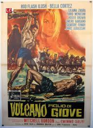 locandina del film VULCANO FIGLIO DI GIOVE