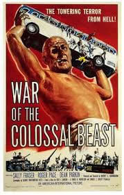 locandina del film WAR OF THE COLOSSAL BEAST