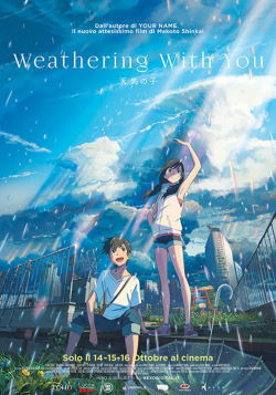WEATHERING WITH YOU - LA RAGAZZA DEL TEMPO