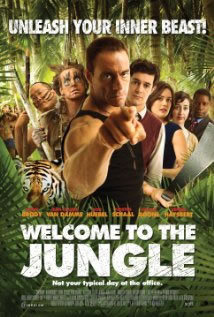 locandina del film WELCOME TO THE JUNGLE (2013)