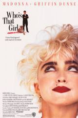 locandina del film WHO'S THAT GIRL?