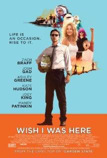 locandina del film WISH I WAS HERE