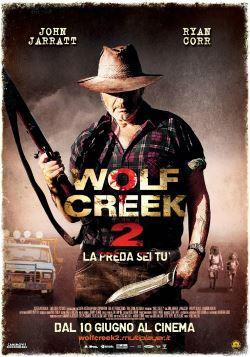 Wolf Creek 2 – La Preda Sei Tu (2014)