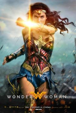 locandina del film WONDER WOMAN (2017)