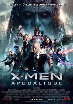 locandina del film X-MEN: APOCALISSE