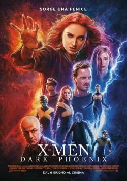 locandina del film X-MEN: DARK PHOENIX