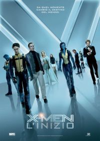 locandina del film X-MEN - L'INIZIO