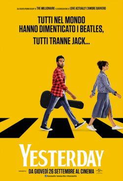 locandina del film YESTERDAY (2019)