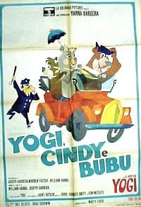 locandina del film YOGI, CINDY E BUBU