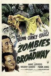 locandina del film ZOMBIES ON BROADWAY
