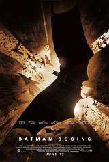 Locandina del film BATMAN BEGINS